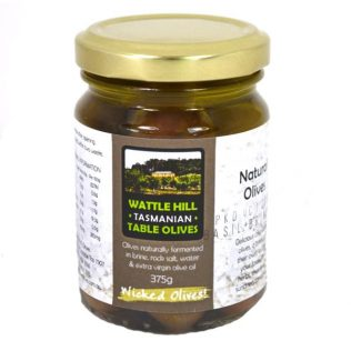 BASIL MARINATED WATTLE HILL OLIVES
