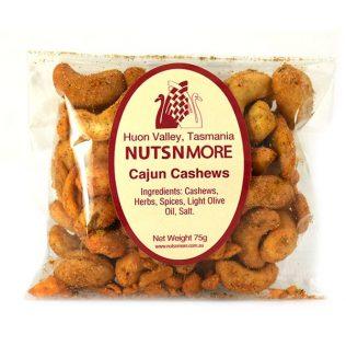 CAJUN SPICED CASHEW NUTS
