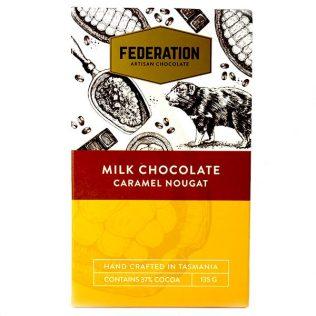 CARAMEL NOUGAT - ARTISAN MILK CHOCOLATE