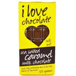 SEA SALTED CARAMEL MILK CHOCOLATE