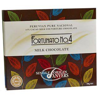 FORTUNATO ORGANIC PERUVIAN MILK CHOCOLATE