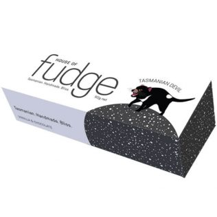 TASMANIAN DEVIL FUDGE - VANILLA & CHOCOLATE