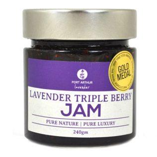 TRIPLE BERRY LAVENDER JAM