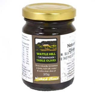 MARINATED TASMANIAN KALAMATA OLIVES