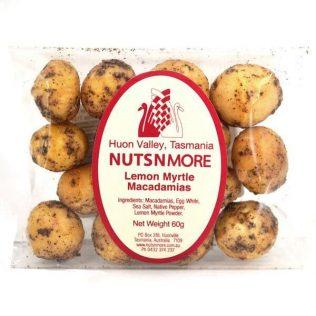 LEMON MYRTLE SALTED MACADAMIA NUTS