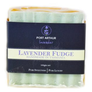LAVENDER CHOCOLATE FUDGE