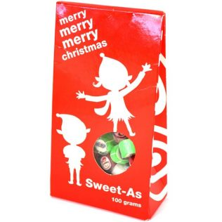 MERRY CHRISTMAS LOLLY BOX