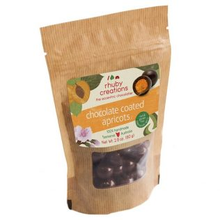 RHUBYS FREEZE DRIED CHOC APRICOTS