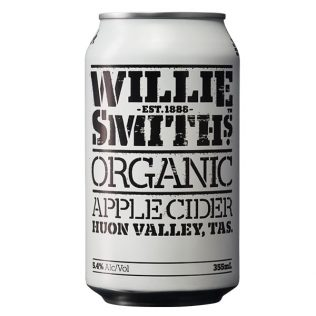 WILLIE SMITH ORGANIC APPLE CIDER