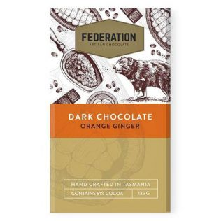 ORANGE GINGER SEVILLE - ARTISAN DARK CHOCOLATE