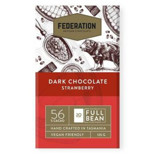 STRAWBERRY DARK ARTISAN CHOCOLATE