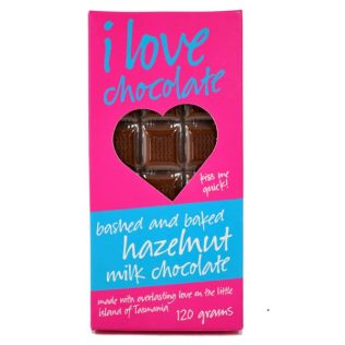 BAKED HAZELNUT MILK CHOCOLATE